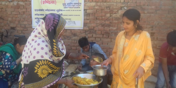 Lucknow Relief Work Update: Four Community Kitchens Now Operational