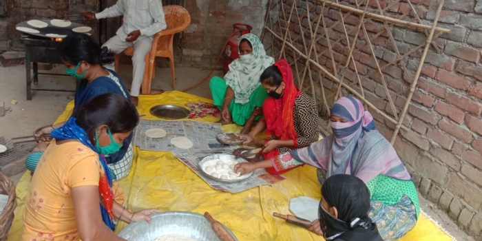 Socialist Party (India) is Providing Food to Those In Need Through Its Community Kitchens