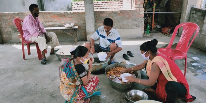 New Community Kitchen Launched in Gorakhpur: Update on Relief Efforts by Socialist Party (India)